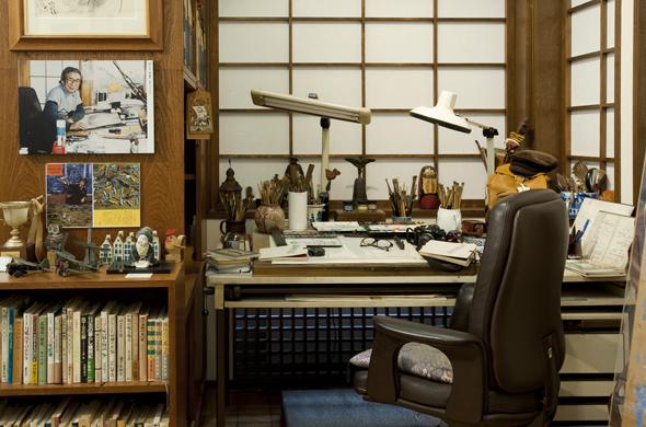 札幌市資料館 おおば比呂司記念室